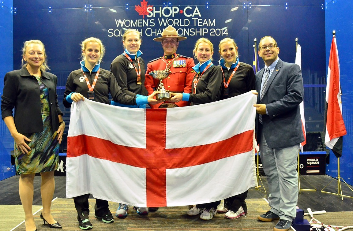 2014: England Reclaim Women's World Team Title